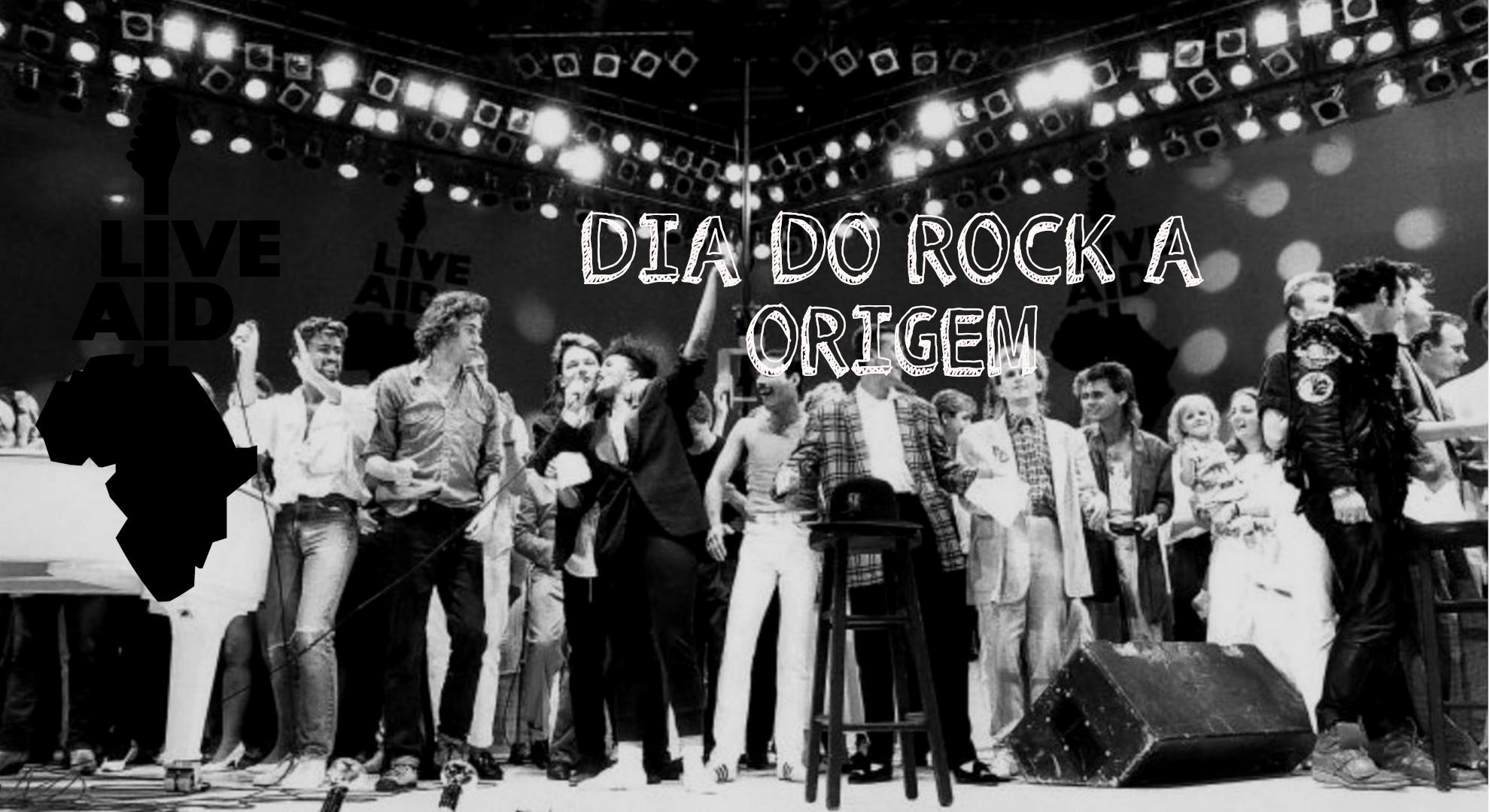 No Haipy do Omega 03 - Dia do Rock a Origem