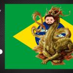 No Haipy do Omega 20- Dragão Dourado de Verde e Amarelo